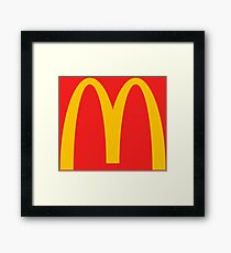 Mcdonalds Framed Print