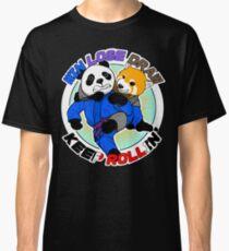 BJJ Jiu Jitsu T Shirt Win Lose Draw Keep Rollin Classic T-Shirt