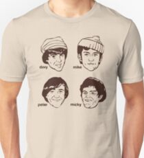 Davy Mike Peter Micky Unisex T-Shirt