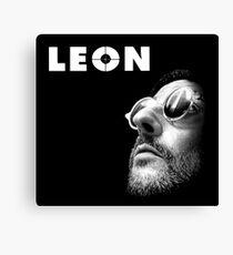 Leon Canvas Print