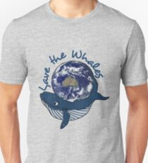 save the whales - southern ocean Unisex T-Shirt