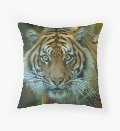 Endangered Throw Pillow