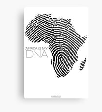 Africa is my DNA Metal Print