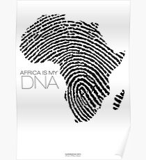 Africa is my DNA Poster