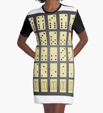 domino pieces Graphic T-Shirt Dress