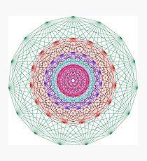 Line Mandala #2 Photographic Print