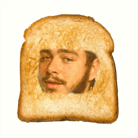 Quot Toast Malone Quot Art Prints By Stattrakjack Redbubble