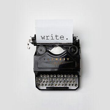 Write, writer, write. by solelunashop