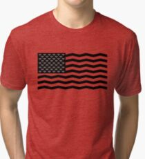 Flag Of Twin Peaks Tri-blend T-Shirt