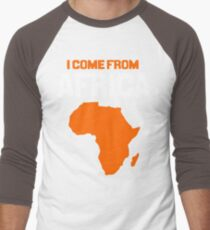 I come from Africa Men's Baseball ¾ T-Shirt