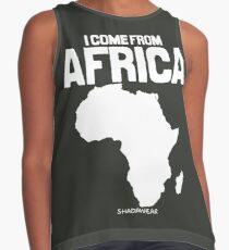 I come from Africa Contrast Tank