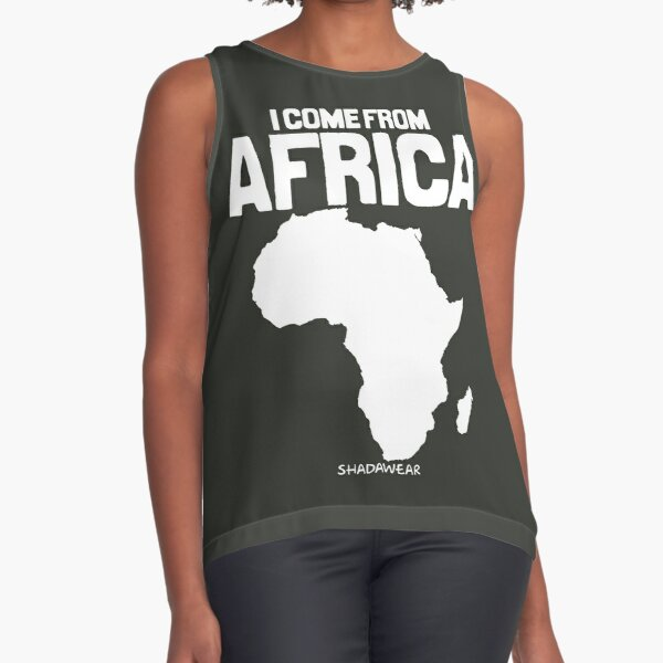 I come from Africa Sleeveless Top
