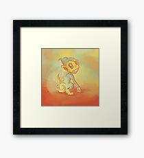 Chimchar Framed Print