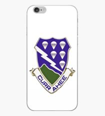 Vinilo o funda para iPhone Currahee - 506 ° infantería - 101 ° aerotransportado