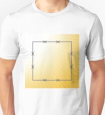 barbed wire frame T-Shirt