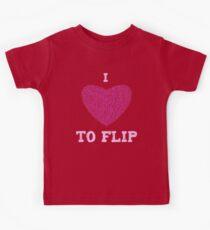 I love to Flip Kids Tee