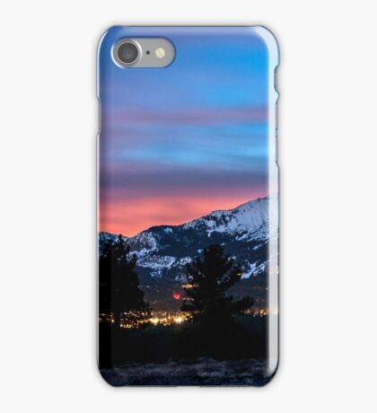 Mammoth at Night iPhone Case/Skin