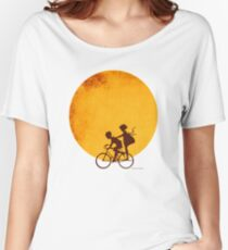 Sunset Bikers by creativetravelers.com  Women's Relaxed Fit T-Shirt