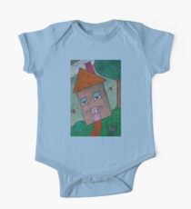 Happy House with Nature One Piece - Short Sleeve
