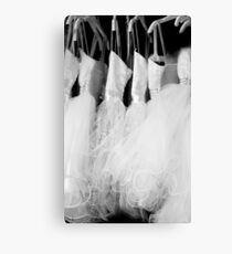 Wedding Dress... Canvas Print