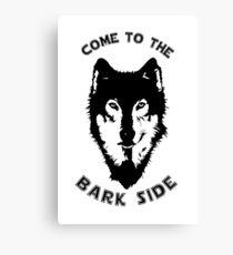 Star Wars - The Bark Side Husky Canvas Print
