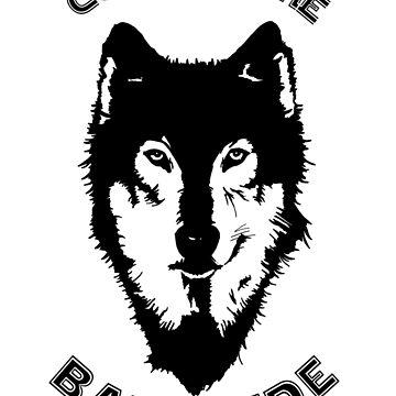 Star Wars - The Bark Side Husky by clarafornia