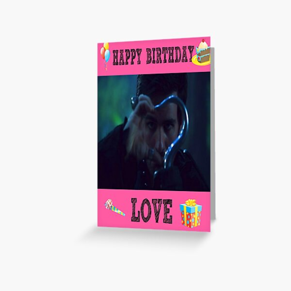 Killian Birthday 1 Greeting Card