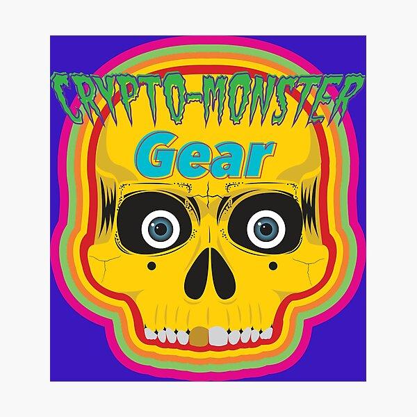 Crypto-Monster Gear Logo Photographic Print