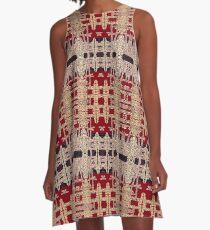 Carnelian Galena Capriccio, V2 A-Line Dress