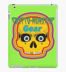 Crypto-Monster Gear Logo iPad Case/Skin