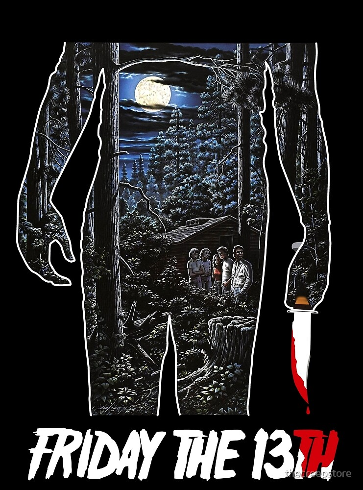Friday the 13th Movie Poster by thecreepstore