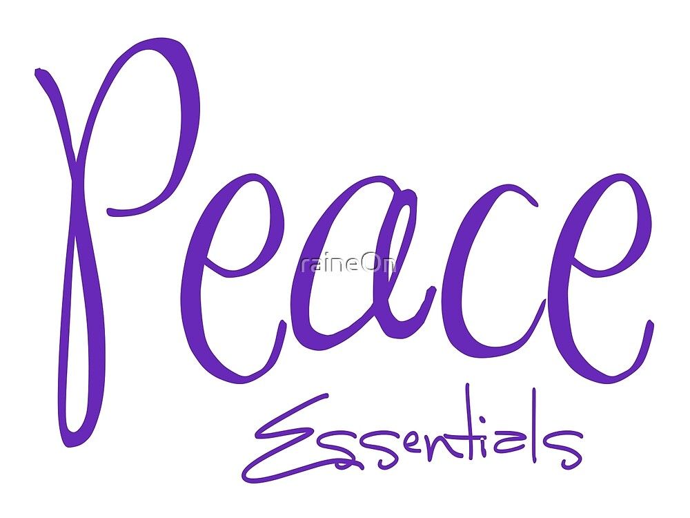 Peace Essentials (lavender) by raineOn