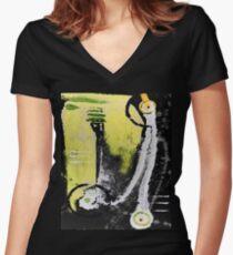solar energy 2 Women's Fitted V-Neck T-Shirt