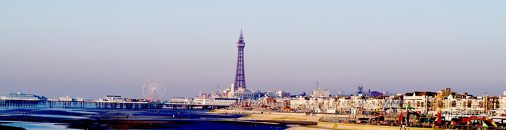 Blackpool Panaramic Portrait by missavatar