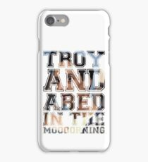 Troy and Abed in the Morning - Abed iPhone Case/Skin