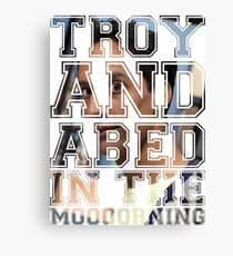 Troy and Abed in the Morning - Abed Canvas Print