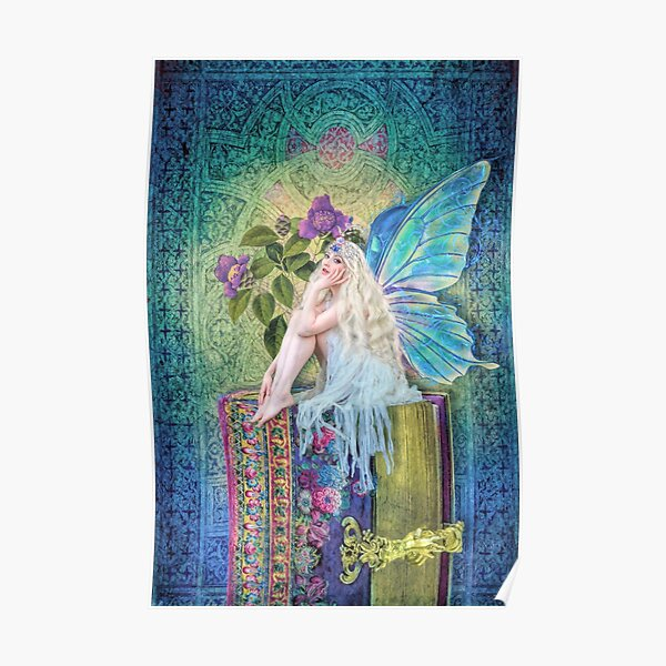 The Little Book Faerie Poster