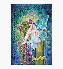 The Little Book Faerie Photographic Print