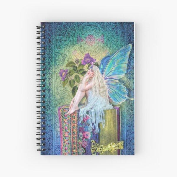 The Little Book Faerie Spiral Notebook