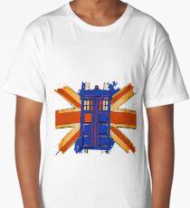 Dr Who - The Tardis - Vintage Jack Long T-Shirt