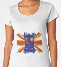 Dr Who - The Tardis - Vintage Jack Women's Premium T-Shirt