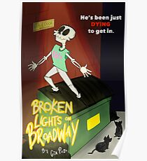 Broken Lights On Broadway Poster