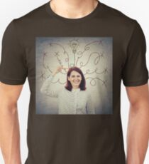 thoughts trasform into ideas Unisex T-Shirt