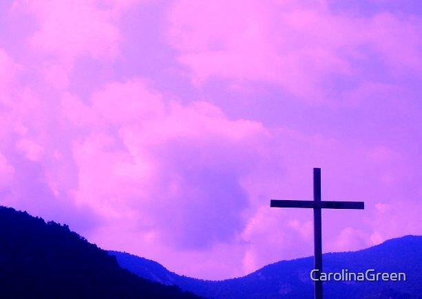 Purple Cross by CarolinaGreen