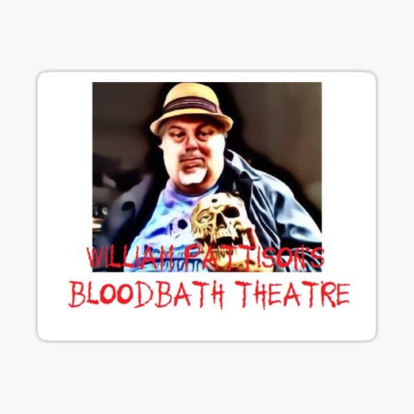William and John and Bloodbath Logo Sticker