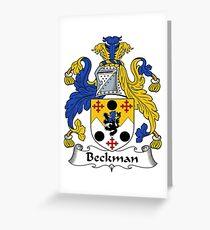 Beckman  Greeting Card