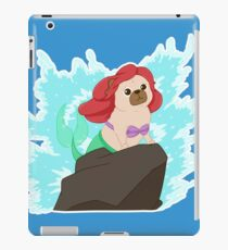 """Paw-t of your world"" The Little mer-pug!  iPad Case/Skin"