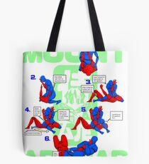 Mount Armbar BJJ T Shirt Tote Bag