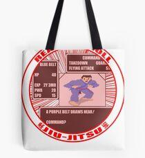 Jiu Jitsu Gamer BJJ T Shirt Tote Bag