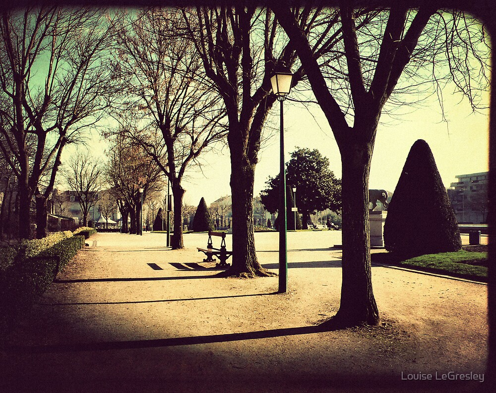 { the park } by Louise LeGresley